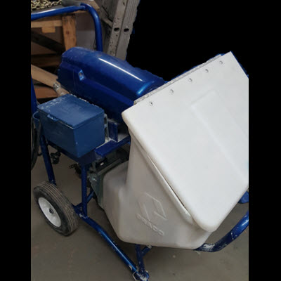 USED Graco F340e Fireproofing Pump