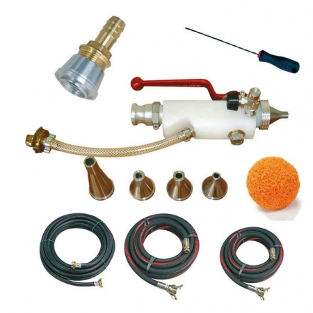 IMER Light Materials Spray Gun Kit