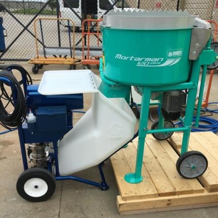 IMER Mixer with Graco Pump 2