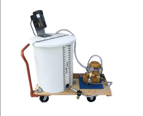 Alum Injection Fireproofing Pump