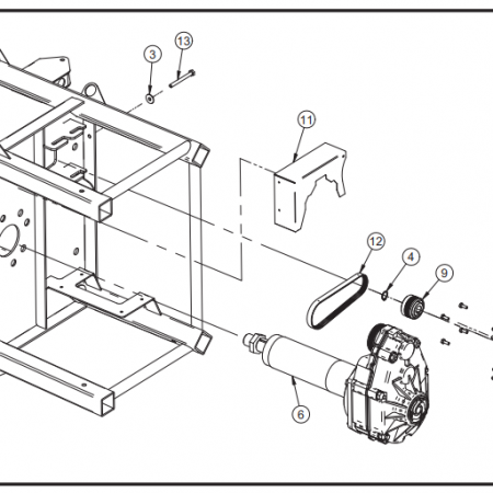 Imer Mortarman Transmission Parts