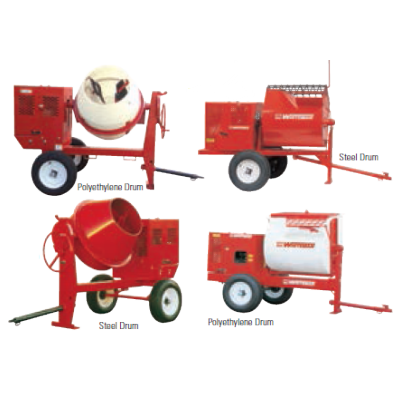Whiteman Mixers | Multiquip And Whiteman Mortar Mixer For Sale