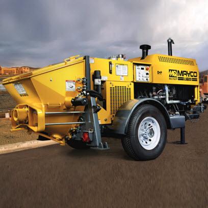 Mayco LS600 Concrete Pump