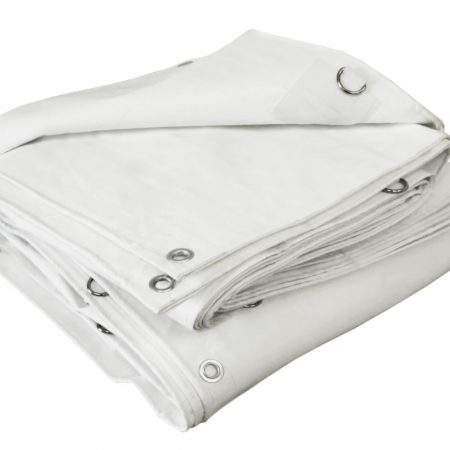 Poly Winter White Tarp