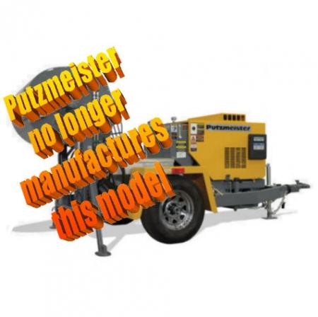 Putzmeister Fireproofing Pumps