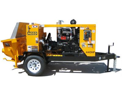 Reed A40HP concrete pump For Sale