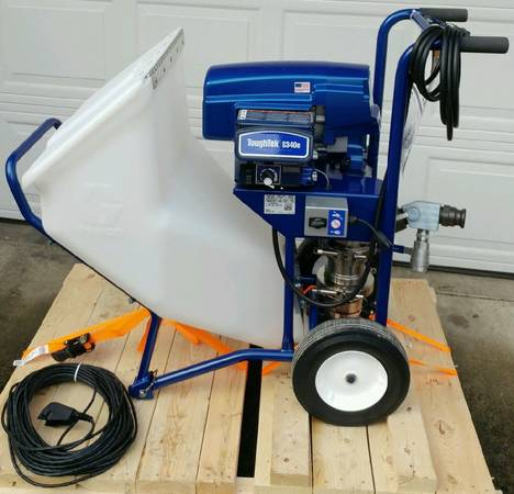 Used Scaffolding For Sale >> USED Graco S340e Stucco Pump | PDQuipment