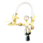 Alum Injection Plumbing Assembly