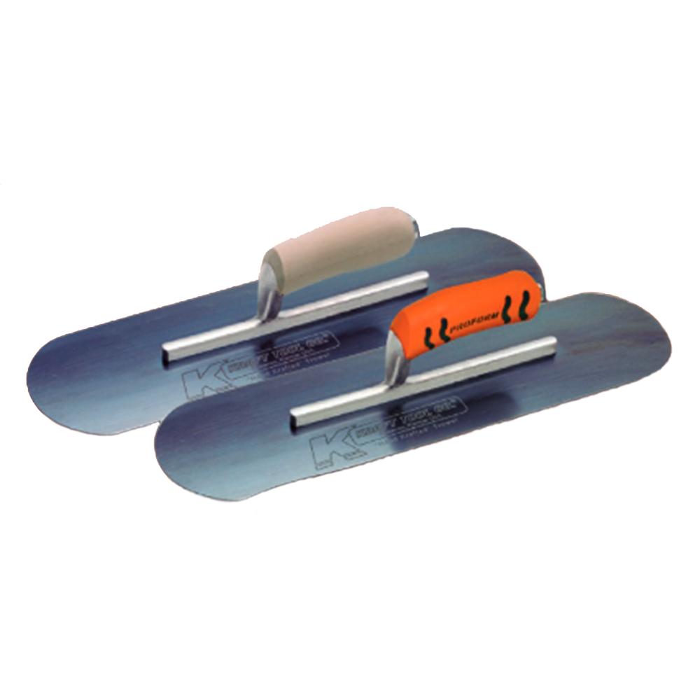 Kraft Blue Steel Round (flexible blade) Trowel