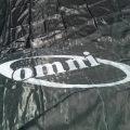 1 Logo Stenciled on a Tarp