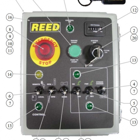 Reed A-Series Control Box