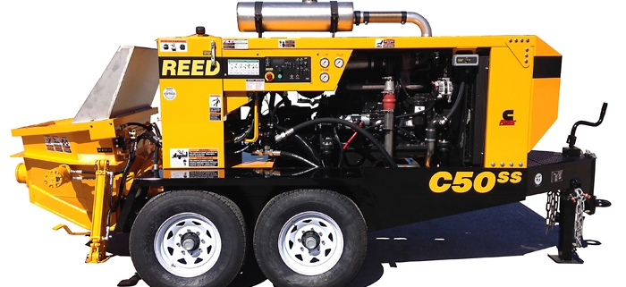 Reed Series C Concrete Pumps